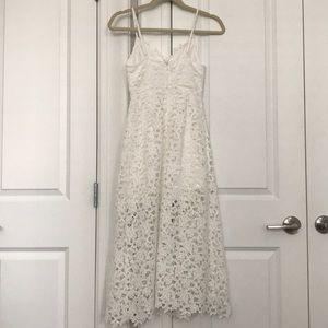 Astr Dresses - White Lace Dress